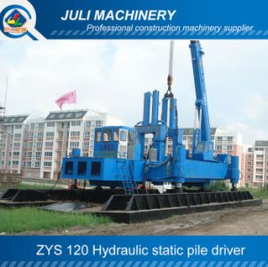 Zys 120 Hydraulic Static Pile Driver, 120ton Pile Driver, 120t Hydraulic Pressure Pile Driver