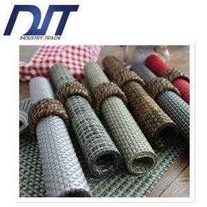 4*4 Solid Color Waterproof Anti-Skid Woven PVC Table Mat