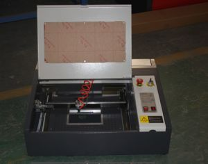 Rhino DSP Control Laser Stamp Making Machinery R4040 pictures & photos