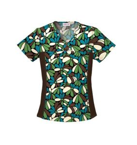 Women′s Scrub Uniform, Medical Uniform of Short Sleeve for Summer --LCM11 pictures & photos