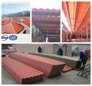Anti Uv Color Le Synthetic Terracotta Roof Tile
