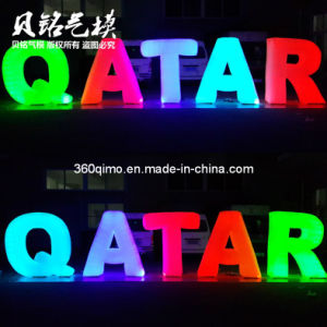 Inflatable Lighting Letters Qatar (BMDL355)