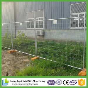 2.1X2.4m Portable Temporary Fence for Construction Sites