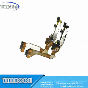 Mobile Phone Flex Cbale for Apple iPhone 4 4G Charger Dock USB Charging Flex Cable with Mic Microphone