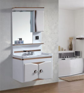 China High Quality Pvc Wall Mounted Bathroom Sink Cabinet With