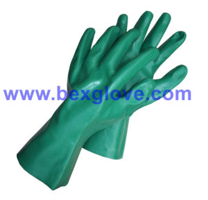 Cotton Interlock Liner, Nitrile Coating, Fully Work Glove pictures & photos