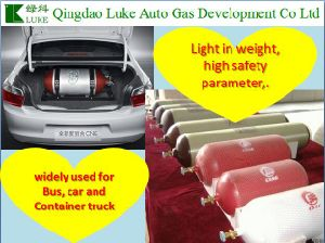 Natual Gas Vehicle CNG/LNG Storage Cylinder