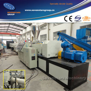 New Design PVC Pipe Making Machine, PVC Pipe Extrusion Machine Extruder Line pictures & photos