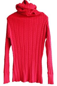 Ladies Fine Knitted Pullover (WNESTY-13983)