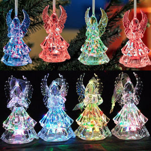 Hot Sale LED Acrylic Angle Christmas Decoration Light for Gift