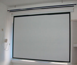400 Inch Projector Screen/Large Projection Screen/Electric Screen/Motorized Screen
