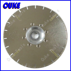 Electroplated Stone Cutting Diamond Segmented Saw Blade pictures & photos