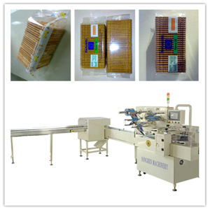 Biscuit Packaging Machine Without Tray pictures & photos