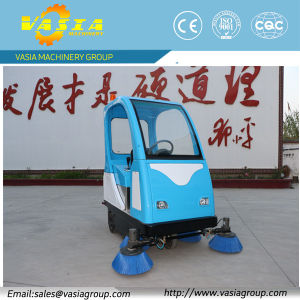 Full Closed Sweeping Machine pictures & photos