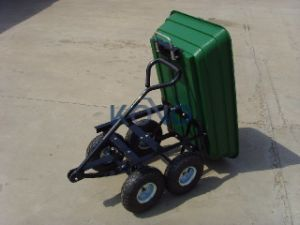 Tool Cart Wagon 75L with Plastic Tray pictures & photos