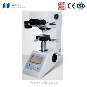 Hvs-1000 Digital Display Micro Vickers Hardness Tester for Specimen Preparation pictures & photos