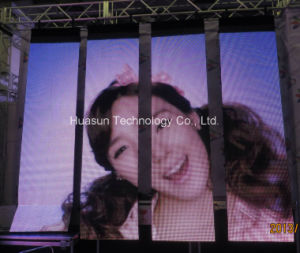 Flex LED Curtain Display for Live Shows, Staging, Events