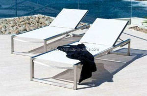 Garden Outdoor Patio Textilene Lounger
