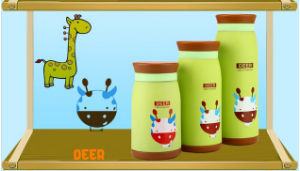 New Products Heat Transfer Deer Baby Water Bottles Printing Film pictures & photos