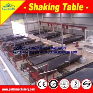 Ore Concentration Machine Shaking Table for Coltan Recovery pictures & photos