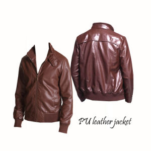 China Pu Leather Jacket, Pu Leather Jacket Wholesale, Manufacturers