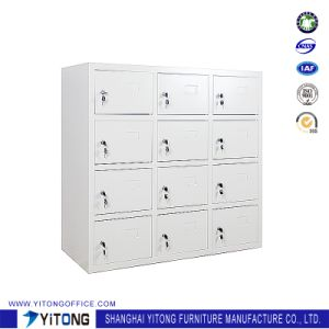 Yitong 12-Door Metal Storage Cabinet / Office Use Steel Shoe Cabinet Locker pictures & photos