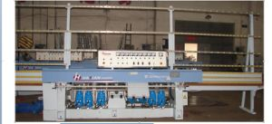 8 Spindlse Automatic PLC Glass Straight Polishing Machine pictures & photos