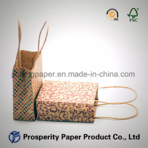 Hot Sale Printed Craft Paper Bag pictures & photos