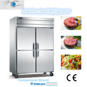 Stainless Steel 304 Kitchen Refrigerator pictures & photos