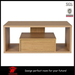 Latest Hot Sale Simple Living Room Furniture Wooden TV Table With Drawer