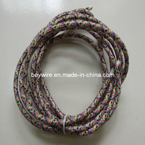 Clorful Fabric Braided Lamp Cord, Braided Cable pictures & photos