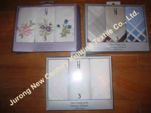 Cotton Hankerchiefs in Gift Box (ENG-1)