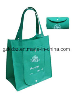 Guangzhou Factory Cheap Folding Non-Woven Shopping Bags Wholesale