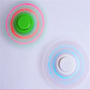 Double Sides LED Lights Plastic Fidget Hand Finger Tri-Spinners