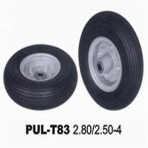 280/250-4 Black PU Wheelchair Tire pictures & photos