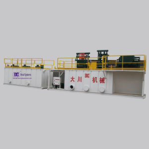 Drilling Mud Solids Control System with ISO9001 Approved