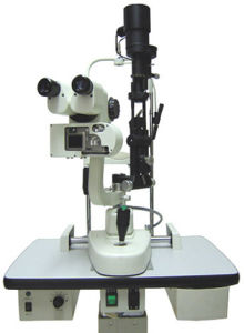 Slitting-Lamp Microscope (SLM-3) pictures & photos