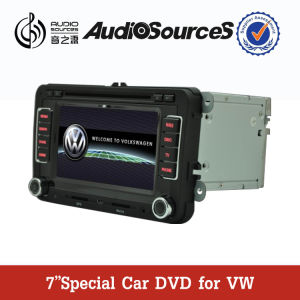 6.5 Inch 2 DIN Car DVD for Vw Golf/Passat /Tiguan/B5/Jetta/Golf5/Tiguan/EOS Tsi with 1.2g CPU 512MB RAM