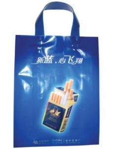 Plastic LDPE Handle Shopping Packing Bag