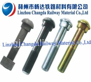 Fish Bolt With Nut and Washer for Fixing Fish Plate
