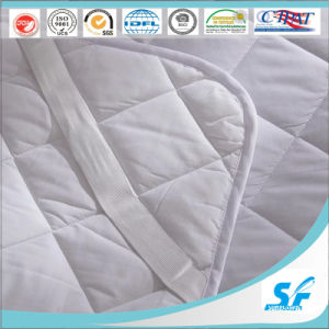 Cotton Fabric Material Fitted Sheet Style Mattress Protector pictures & photos