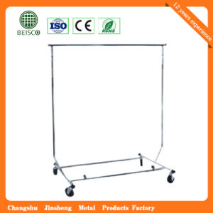 Folding Garment Shop Display Clothes Stand pictures & photos