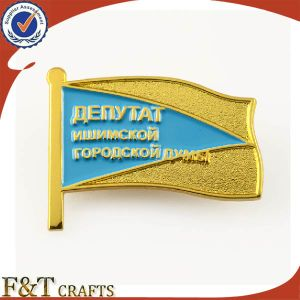 Hot Sales Metal Badge with Filling Color pictures & photos