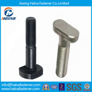 Stainless Steel 304 316 T Bolt / Carbon Steel A193 B7 Square Head T Bolt pictures & photos