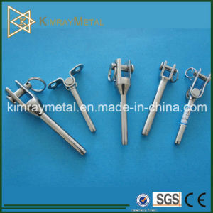 316 Grade Stainless Steel Wire Rope Swage Fork Termial