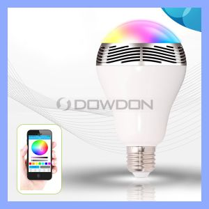 Bl05 New Arrival Smart APP Control Bluetooth Rainbow LED Bulb Speaker pictures & photos