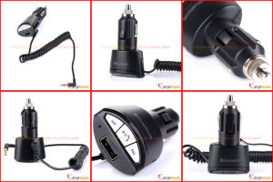 3.5mm Jack FM Transmitter, FM Transmitter RDS Bluetooth pictures & photos