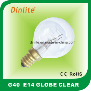 15W Clear Incandescent Globe Bulb pictures & photos