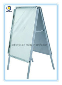 Aluminum Free Standing Poster Stand with Double Sides. a Frame Board, Pavement Sign