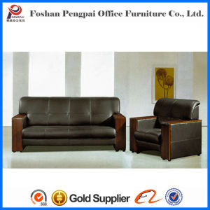 Classical Design PU Leather Grey Office Sofa